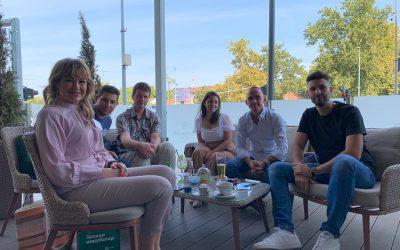 Projektni i stručni tim na treningu u Novom Sadu