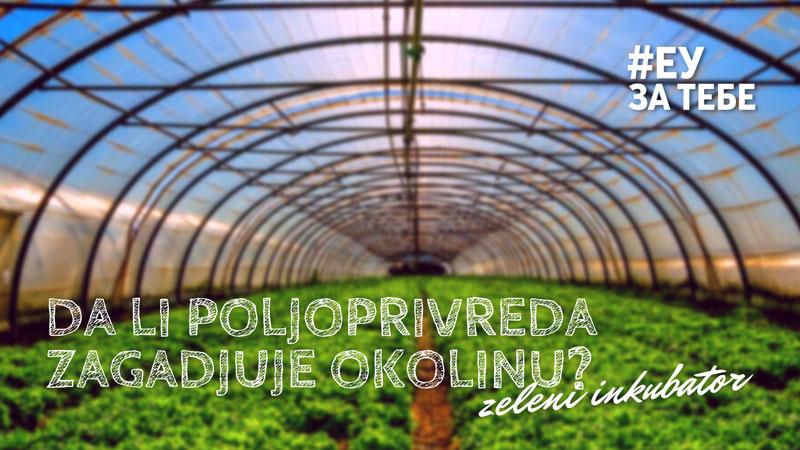 Da li poljoprivreda zagadjuje okolinu